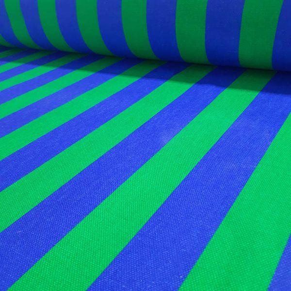Loneta exterior rayas azul A000132