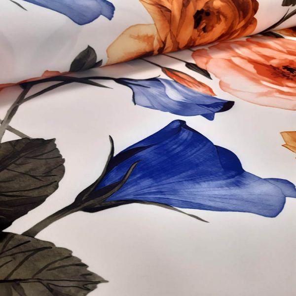 Crep estampado flores A000160