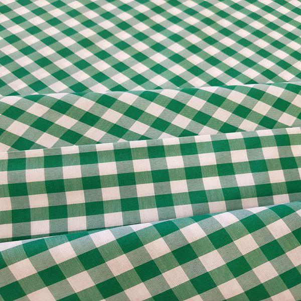 Cuadros vichy 1cm verde A000200