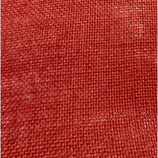 Tela de Yute Roja