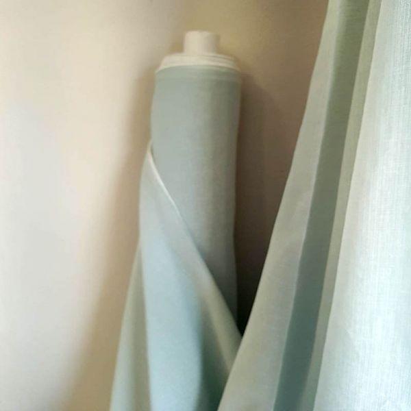 Visillos cortina verde mint A0349