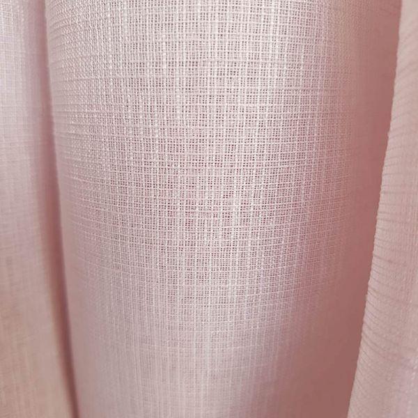 Visillo cortina rosa A0350