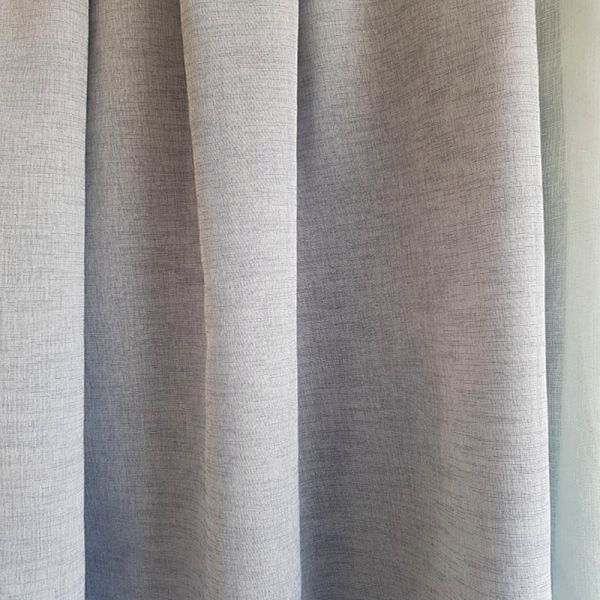 Visillo cortina gris A0351