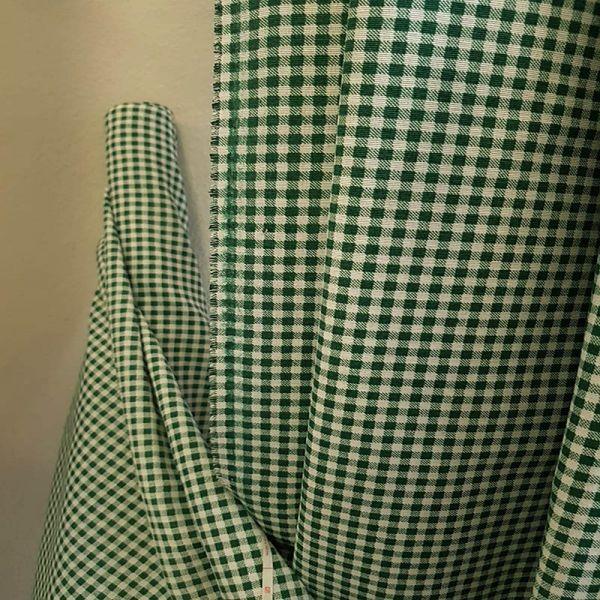 Loneta vichy verde A0436