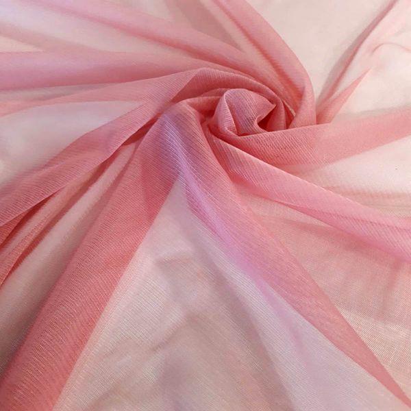 Tul sedoso rosa