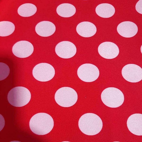Tela Polar softsell,Rojo
