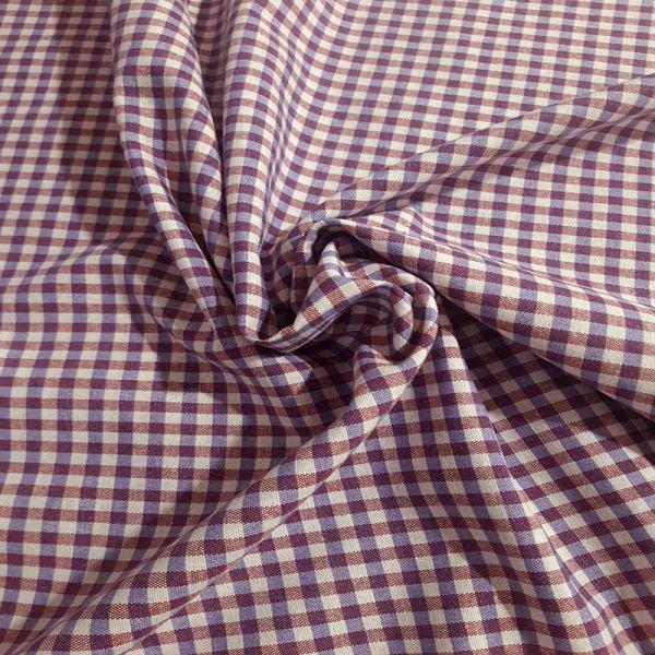 Loneta tejida cuadros vichy A000023