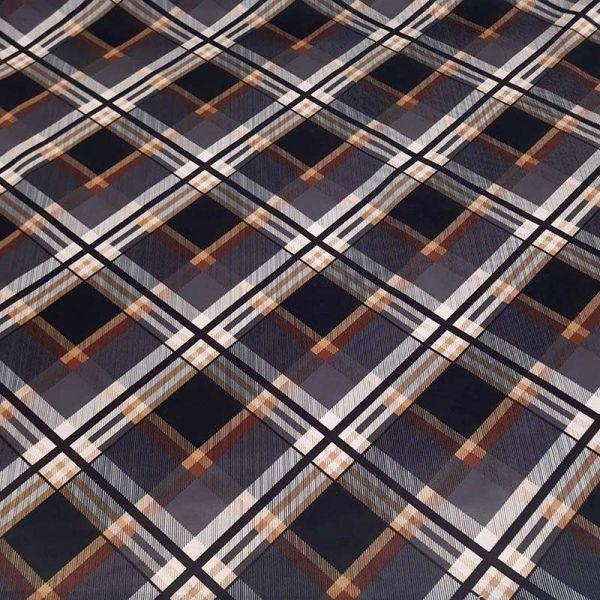 Saten strech Italiano geometrico T9278
